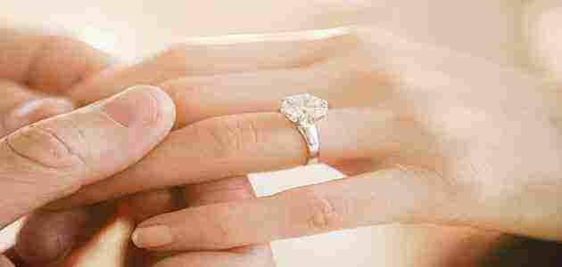 تفسير حلم خاتم الخطوبة للعزباء وللرجل المتزوج زيادة