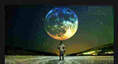 تفسير حلم القمر قريب من الأرض زيادة
