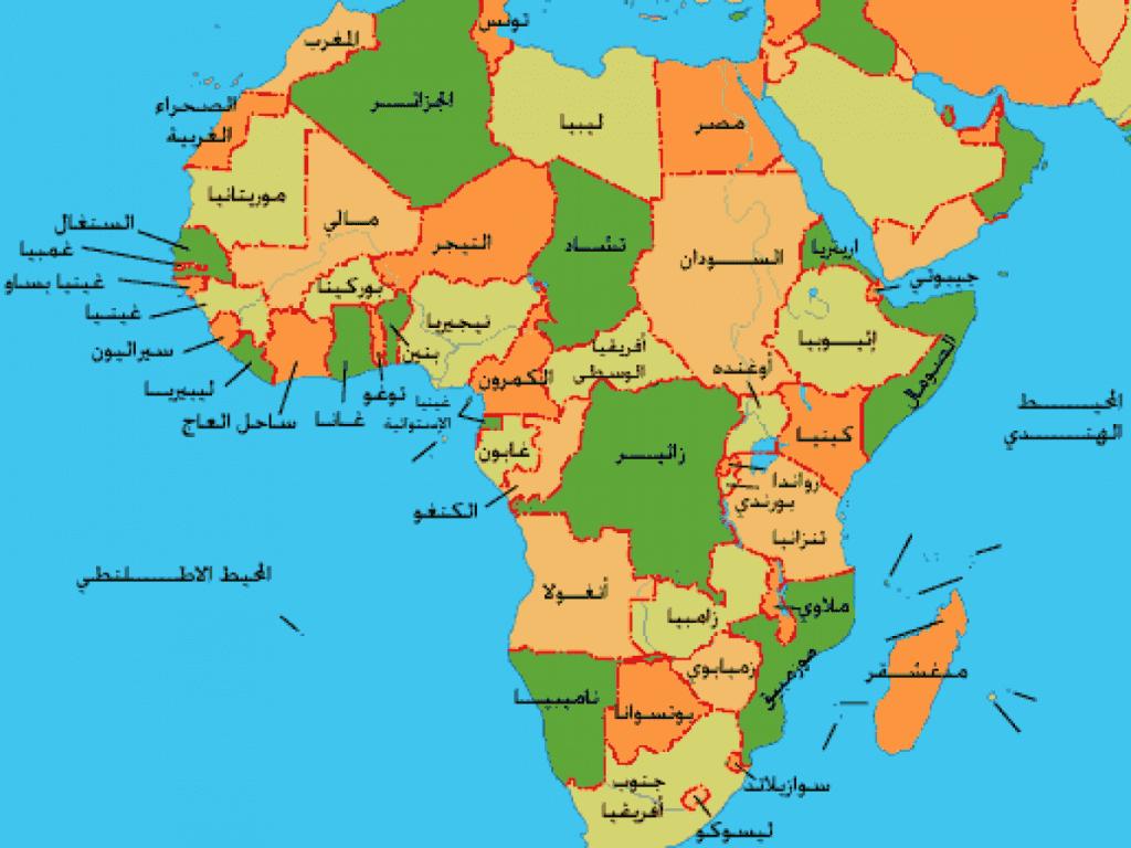 اكبر دولة مساحة في افريقيا وترتيب الدول الأفريقية فيها زيادة