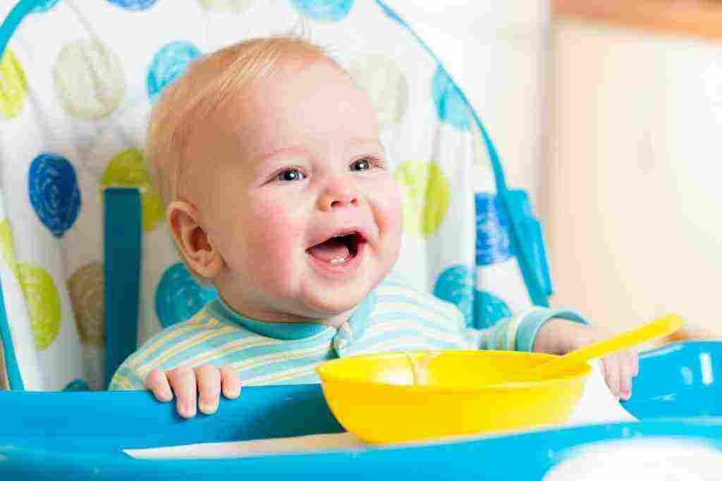 طعام الطفل في الشهر الرابع بالصور زيادة