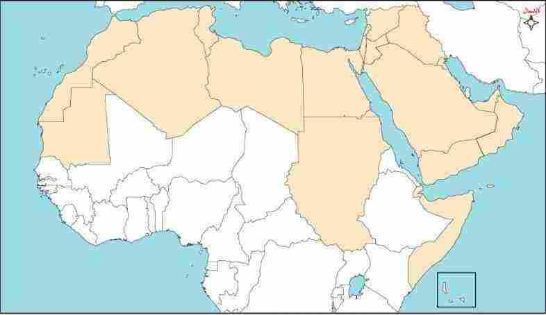 المغرب العربي خرائط مجانية 7