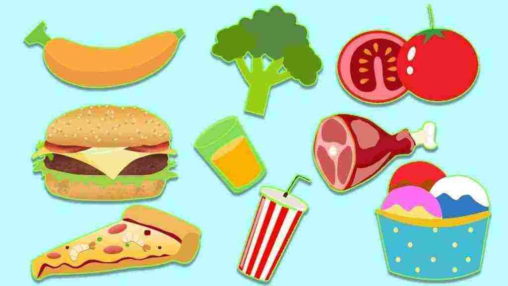 نشرة عن الغذاء الصحي للاطفال اجمل بنات