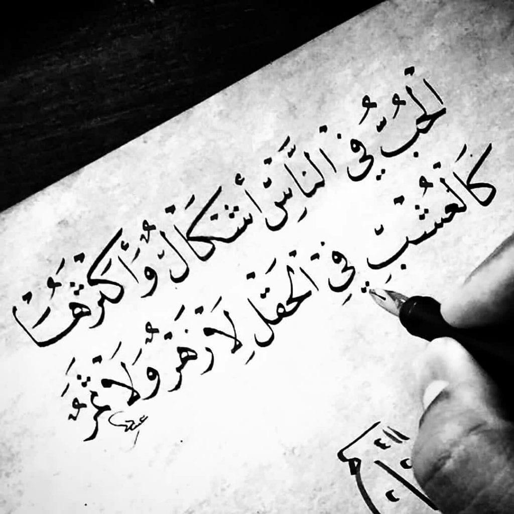شعر حب وشوق وعشق وحنين قصير رومانسي للزوج والحبيب زيادة