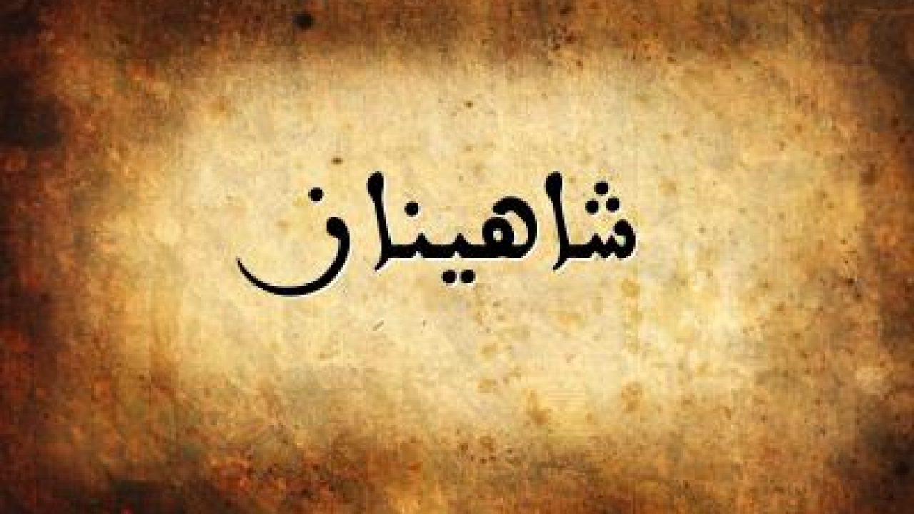معنى اسم شاهيناز و صفات 2