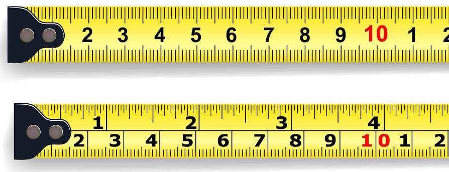 9 انش كم سم وكيفية تحويل وحدة الانش إلى وحدة السنتيمتر وأنواع وحدات القياس زيادة