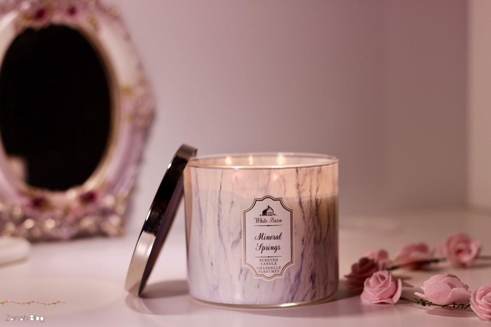 أفضل شموع باث اند بودي وفوائد استخدام الشموع العطرية زيادة