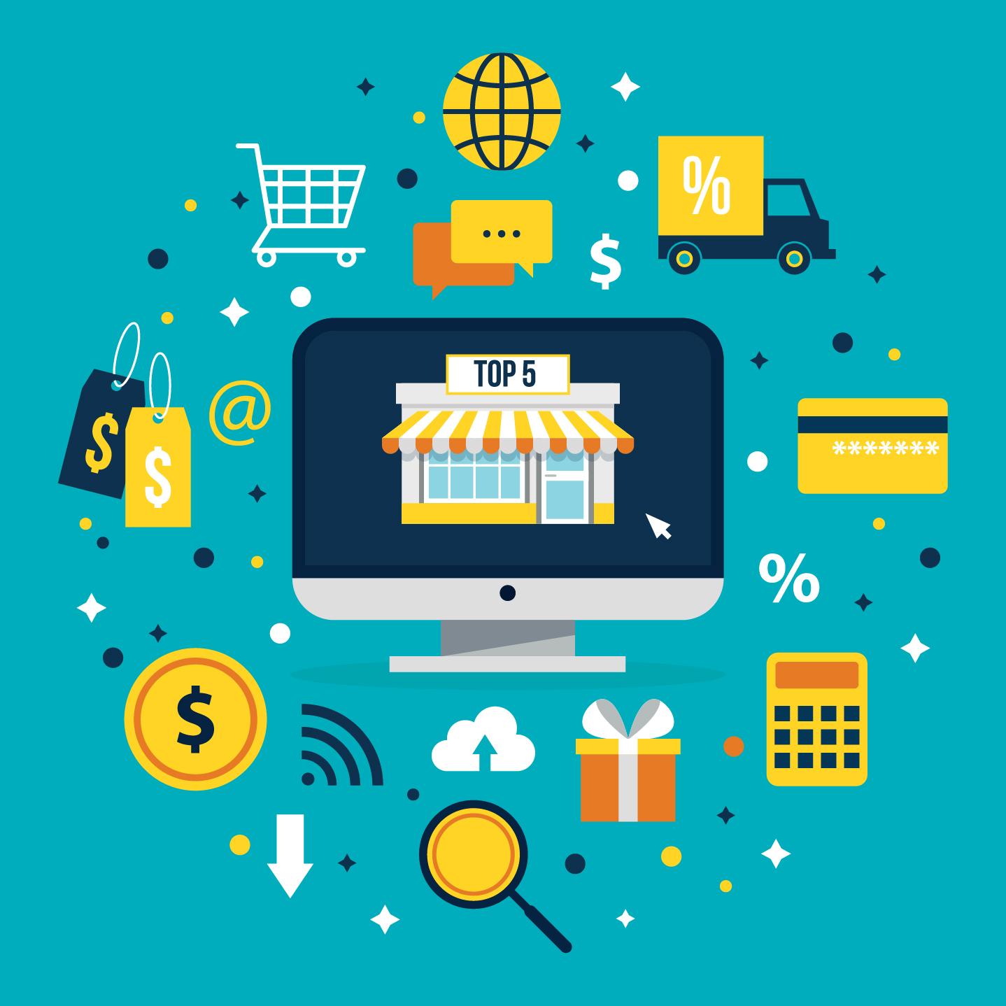 أفضل منصة للتجارة الإلكترونية لبيع المنتجات الرقمية