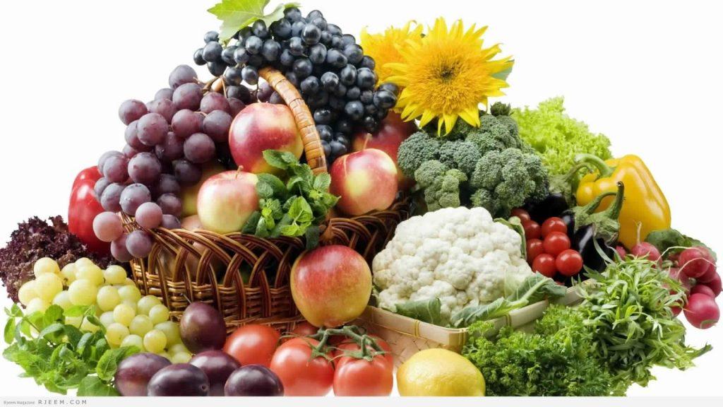 الأطعمة الطازجة وفوائدها في عشرة أسطر مع الصور زيادة