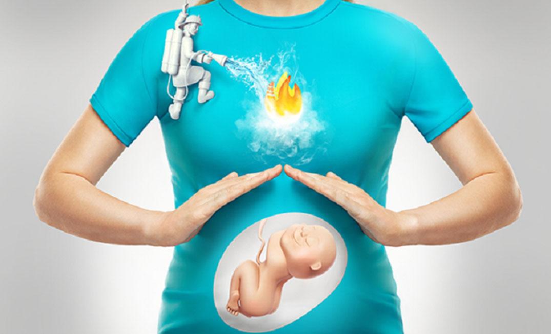 الحموضة المعوية للمرأة الحامل