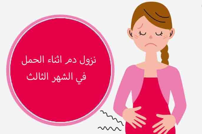 أسباب نزول دم أثناء الحمل في الشهر الثالث وطرق علاجه زيادة